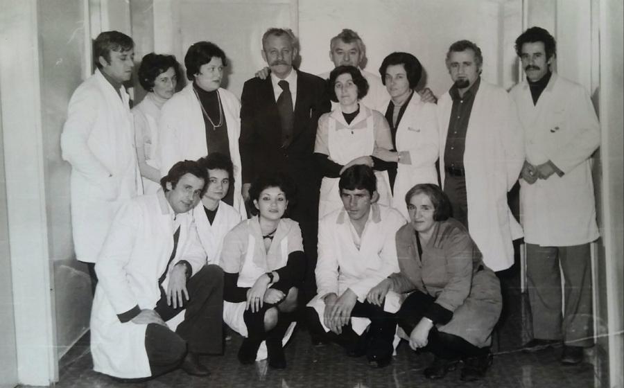 Kolektiv psihijatrije negdje osmdesete, skoro na početku radnog vijeka