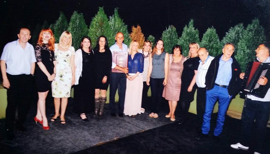 Kolektiv psihijatrije na ispraćaju u penziju maj 2014.