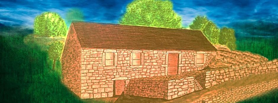 Кућа на бијелом благу